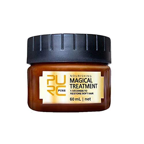 Magical Keratin trattamento maschera 5 secondi Hair Root riparazione 60 ml nutriente Soft Hair Tonic cheratina capelli cuoio capelluto trattamento