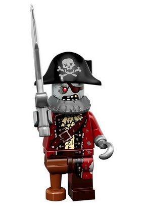 Lego Series 14 Minifigures 71010 Zombie Pirate Figur 2