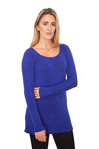 ex-marks-spencer-camiseta-de-manga-larga-para-mujer-azul-azul-42