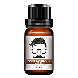 1pc Men Natural organ oilic Styling Moustache Oil Moisturizing Smoothing Dashing Gentlemen Beard Oil Face Hair Care Top Quality