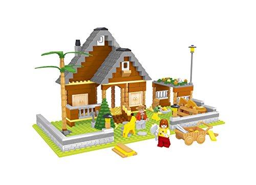 Ausini - Juego de construcción Granja & establo de caballos - 372 piezas (ColorBaby 42252)