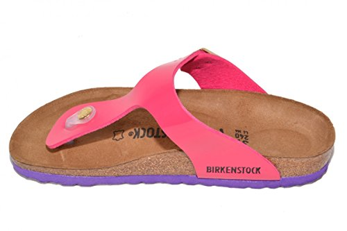 Birkenstock - Gizeh Birko-flor, Infradito Donna Patent Pink