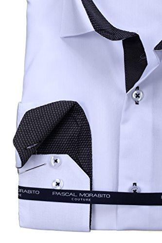 Pascal Morabito - Chemise habillée Mrt080 Blanc Blanc
