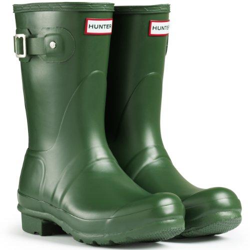 Hunters - Original Short Gloss, Stivale In Gomma unisex Verde(Greens)