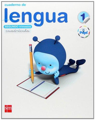 Conecta con Pupi, lengua, 1 Educación Primaria. 2 trimestre. Cuaderno (cuadrícula)