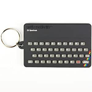 Spectrum Keyring. Sinclair ZX Spectrum PVC Keyring by Pop Art Products