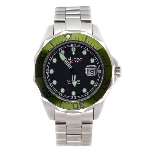 Nautec No Limit Herrenarmbanduhr Deep Sea Bravo DS-B 8215/STGR
