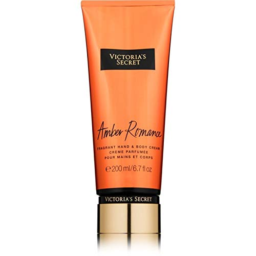 Victoria's secret amber romance hand & body cream, donna, 200 ml