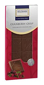 Heilemann Tafel Cranberry laktosefrei, 4er Pack (4 x 80 g)