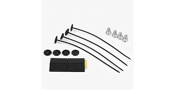 Kühler Spurstange Universal Lüfter Montage Kit Halterung Elektrische Heizkörper Auto Kühlung Amazon De