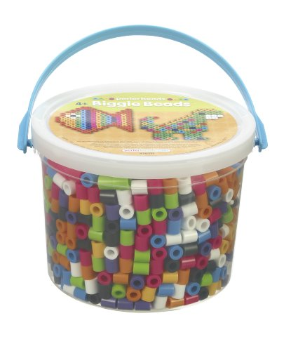 Perler Kunststoff Biggie Fun Fusion Fuse Bead Bucket-Assorted Farben