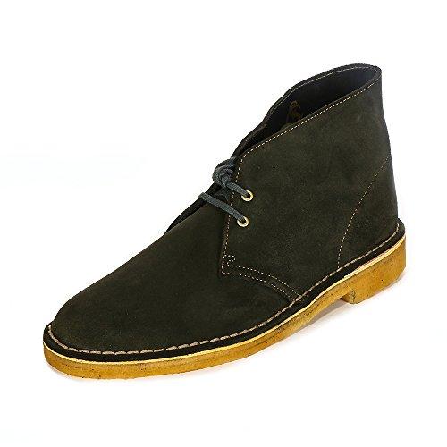 Clarks Originals Desert Boot, Herren Desert Boots, Grün (Loden Green), 44 EU -