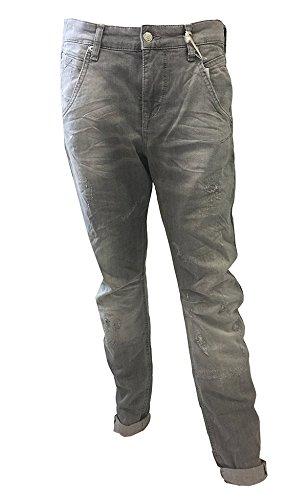 MAC - Jeans - Femme D355_grey used fancy re-done