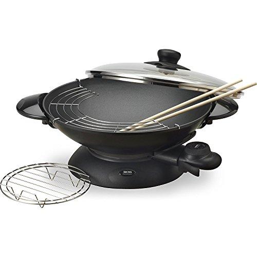 Aroma Housewares aew-3065-Quart Wok électrique