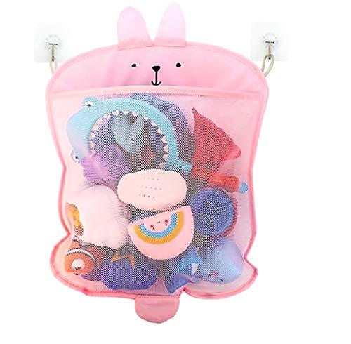 Inception Pro Infinite Organizer Spielzeug - Dusche - Babywanne - Tabletts - Kinder - Pink Bunny - Games Organizer - platzsparend - Netztasche