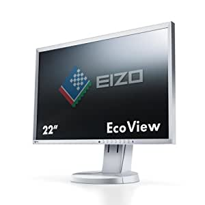 Eizo EV2216WFS-GY 55,9 cm (22 Zoll) Monitor (VGA, DVI, DisplayPort, 5ms Reaktionszeit, USB) grau