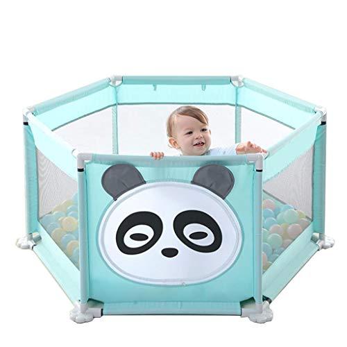 Baby Zaun Zaun Kinder Spiel Zaun Infant Indoor Kleinkind Sicherheit Krabbeln Mat Home (Bonus: 200 marine bälle)