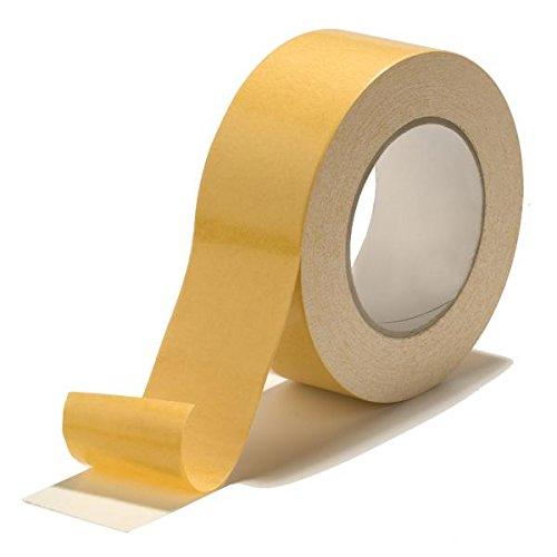 Premium doppelseitiges Klebeband 38mm x 50m   Tapima Tape 38/50   Gewebeband   Teppichklebeband   div. Gebinde
