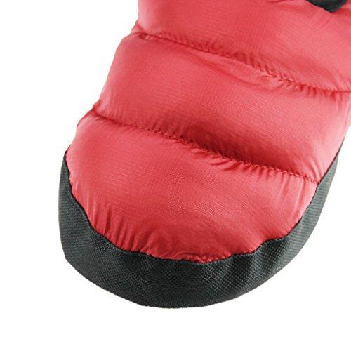 2f626a22aca7b ... Chaleureux Confortable Léger Peluche Rouge Et En rose Chaussures  Antidérapante Hiver femme Pantoufle Dintérieur Doux Pantoufles