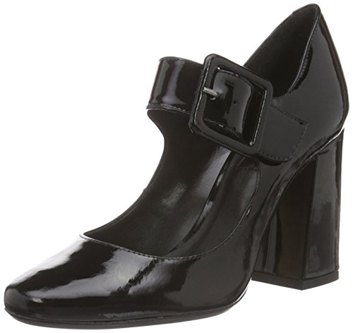 Bronx Damen Aleza Pumps, Schwarz (Black 01), 41 EU (8UK)