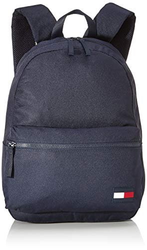 Tommy Hilfiger Herren Tommy Core Backpack Rucksack, Blau (Sky Captain), 44x32x19cm