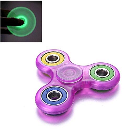 Fidget Spinner Switchali LED Brillante Hand Spinner Fidget Juguete Anti Ansiedad para Niños y Jóvenes Adultos Juguete Educación Juguetes de...