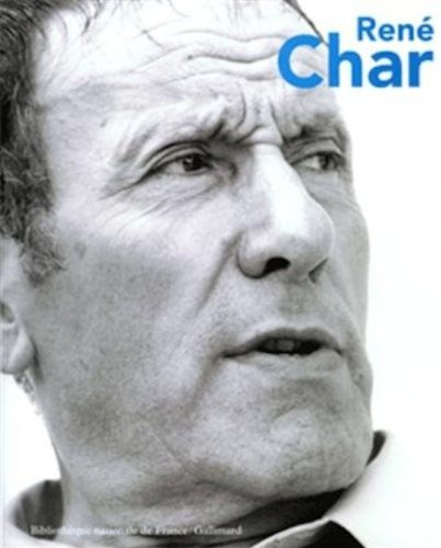 René Char par Antoine Coron, Collectif