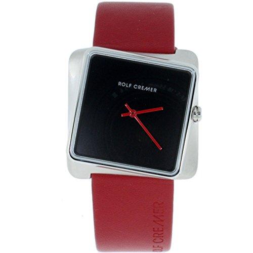 Rolf Cremer Twist 501701 Unisex Armbanduhr Rot