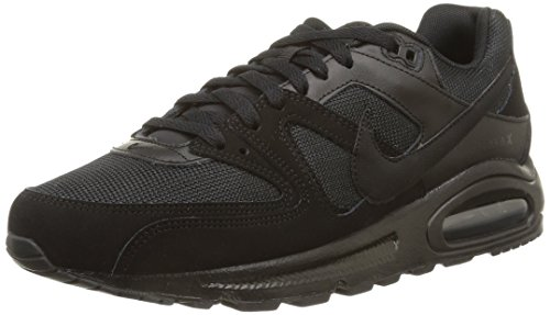 Nike Air Max Command, Herren Hallenschuhe, Schwarz (Black_020), 44.5 EU (9.5 Herren UK) (Air Max Fall)