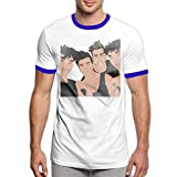 Photo de Dobre Brothers - You Know You Lit Men Music Rock Band Logo Fashion Short Sleeve Shirt Black,T-Shirts à Manches Courtes par ONLYLOVE