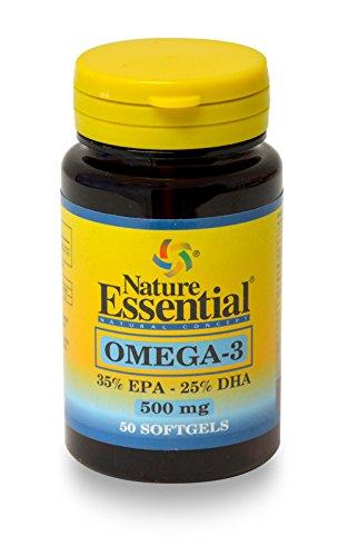 OMEGA-3 (EPA 35%/DHA 25%) 500 MG.50 PERLAS