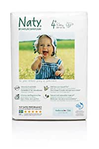 3 Packs Nature Babycare Maxi Plus Nappies (Size 4+) (3 x 25 nappies); to fit weight 9-20kg, 20-44lbs