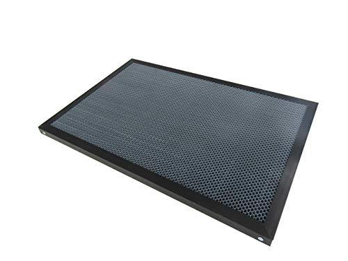 Nid d'abeille travail Table de lit CO2 50 W 60 W pour Tube de gravure au laser de coupe machine 550 x 350 mm 7-10 mm Trou de table