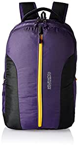 American Tourister Zap 2016 Polyester 28 Ltrs Purple Laptop Bag (AMT ZAP 2016 BACKPACK 07-PURPL)