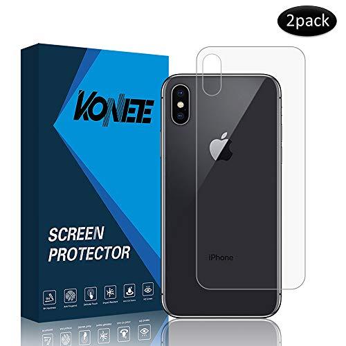 KONEE Protector Pantalla Trasera Compatible iPhone
