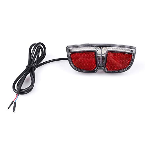 JUNSTAR Ebike 6V LED Rücklicht für Bafang Mittelmotor Kurbel Kit 250W 350W 500W 1000W Elektrische Fahrrad Hinterradbremsleuchte