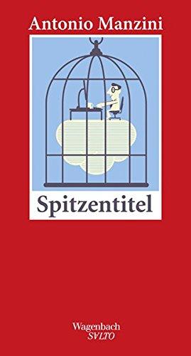 Buchseite und Rezensionen zu 'Spitzentitel (SALTO)' von Antonio Manzini