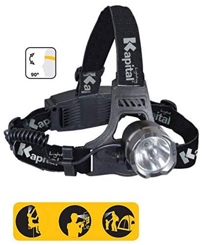 Kapital KL140RHL - Linterna Frontal Multimodo 140 Lumens