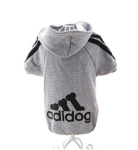 KayMayn Hunde-Pullover mit Kapuze, mit Aufschrift