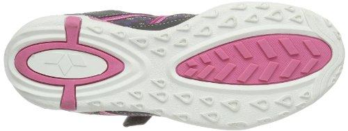Lico Naomi 530312 Mädchen Sneaker Grau (grau/pink)