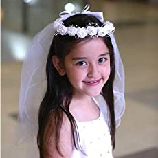 Tiaras buy tiaras online at best prices in india amazon wassup tiara for girls white mightylinksfo