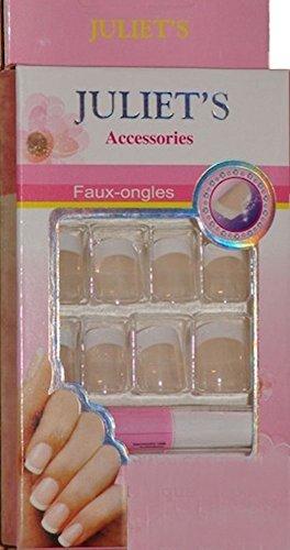 Kit faux ongles prêt à poser French Naturel Manucure 1ER PRIX !