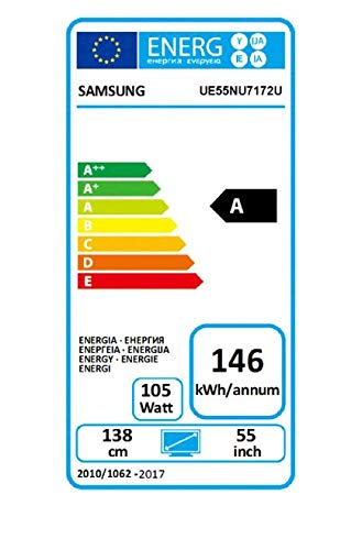 "41%2BGMmZckCL - Samsung UE55NU7172 55"" 4K Ultra HD Smart TV Wi-Fi Black LED TV - LED TVs (139.7 cm (55""), 3840 x 2160 Pixels, LED, Smart TV, Wi-Fi, Black)"