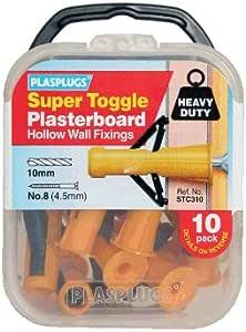 Plasplug SSTC554 Super Toggle Hollow Fixing