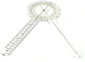 Plastic 30.5 cm Goniometer 360 Degree
