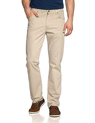 Wrangler Men's Arizona Stretch Soft Fabric Chino Style Jeans Camel