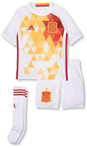 Adidas FEF A SMU Mini Conjunto Equipación Línea Selección Española de Fútbol, Niños, Blanco (Rojfu), 152