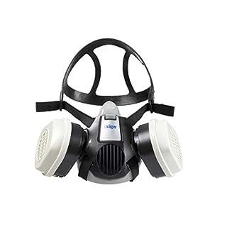 Dräger X-plore 3300 Halbmasken-Set inkl. ABEK1 Hg P3 Kombi-Filter | Gr. L | Atemschutz-Maske für Chemie-Arbeiten gegen Gase, Dämpfe, Fein-Staub/Partikel