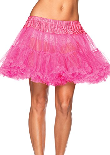k Neon pink One Size (Neon Fancy Dress Outfits)