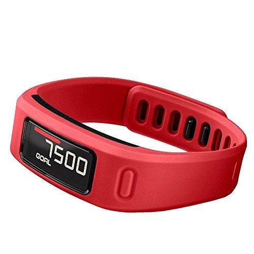 Garmin Vivofit - Pulsera de fitness, color rojo